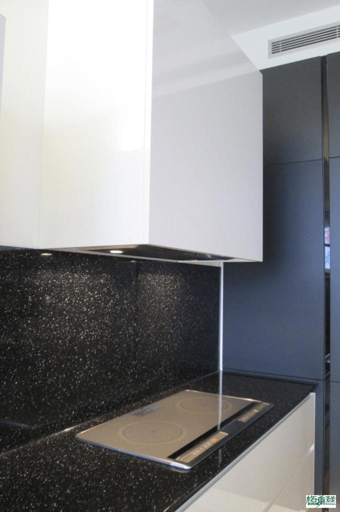 格蘭登廚具 現代極簡系列 新竹作品 壁面檯面同色