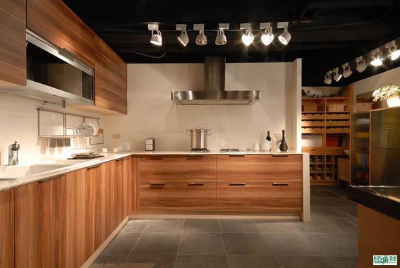格蘭登廚具 現代極簡系列 MFC木紋 台北作品 留白