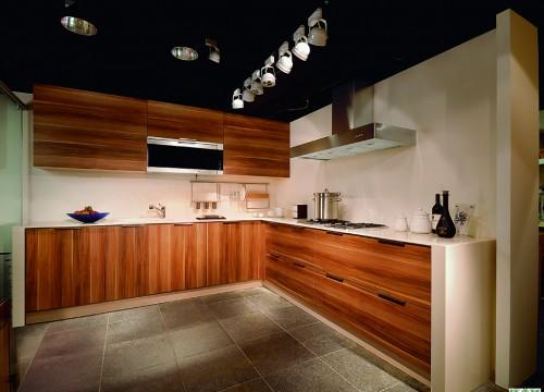 格蘭登廚具 現代極簡系列 MFC木紋 台北作品 主圖