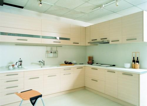 格蘭登廚具 現代極簡系列 梣木MFC 台北作品 主圖